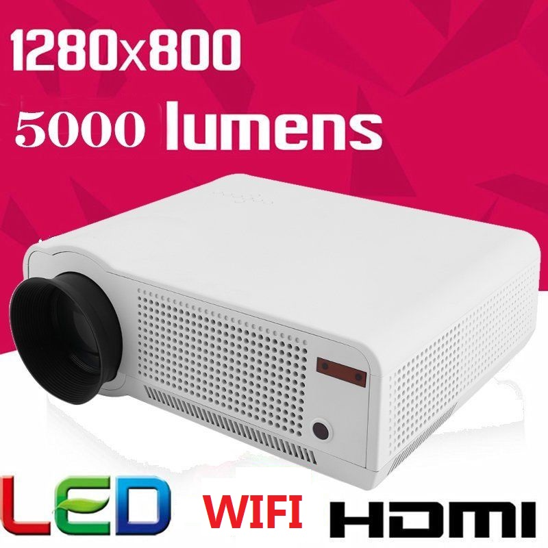 5000 Lumens Full HD 1080P LED86 LCD 3D WIFI Home Theater ...