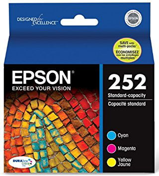 Epson 252 Standard-capacity Color Multi-Pack Ink Cartridges by Epson