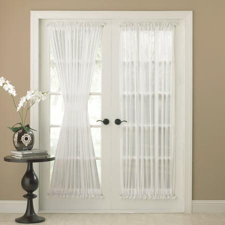 Reverie Semi-Sheer Tailored Door Panel With Tieback 60
