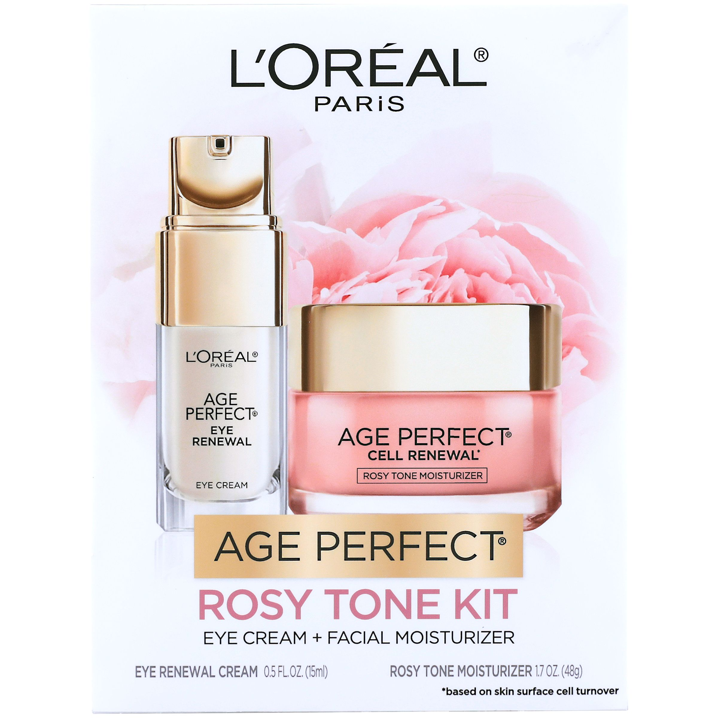 L'Oreal Paris Age Perfect Eye Renewal and Age Perfect Cell Renewal