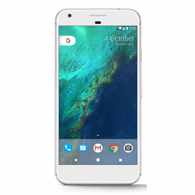 New Pixel XL 128GB G-2PW2100 Factory Unlocked 4G LTE 5.5'' AMOLED Display 4GB RAM 12.3MP Camera by Google  Phone - Very Silver