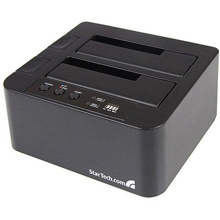 StarTech eSATA USB to SATA Standalone HDD Hard Drive Duplicator Dock