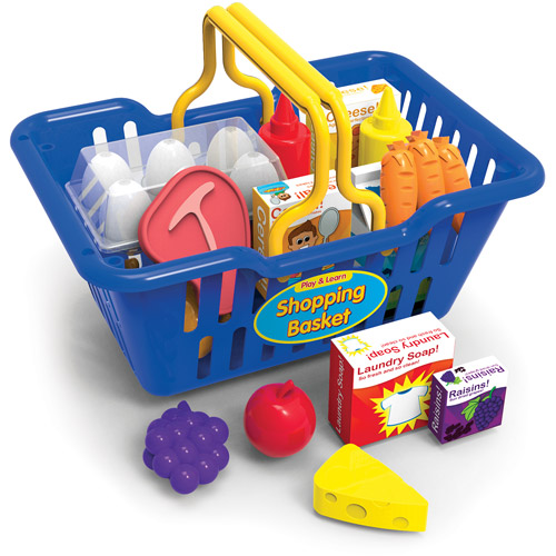 Play and Learn Shopping Basket