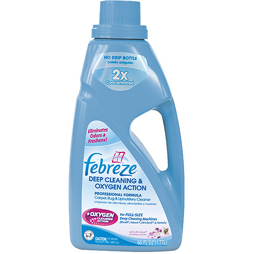 Febreze Deep Clean and OXY Solution for Carpets