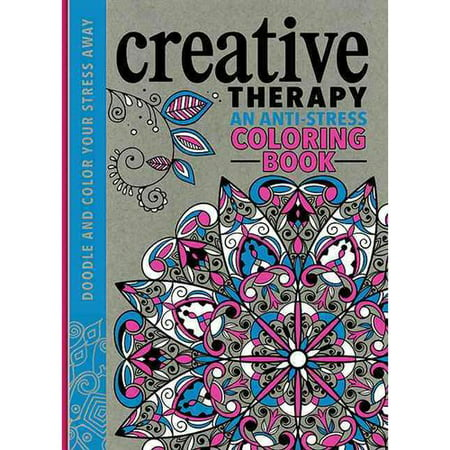 Creative Therapy: An Anti-stress Coloring Book - Walmart.com