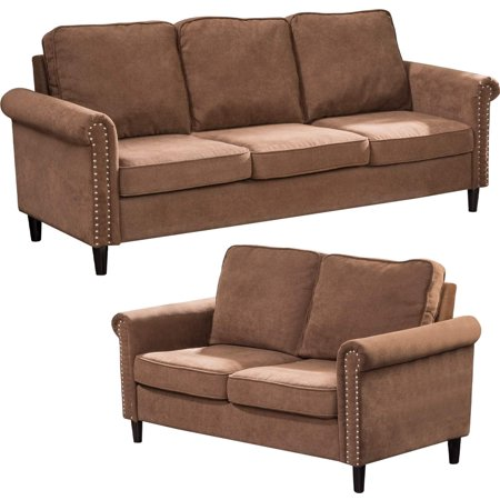 Sofa Set Sectional Sofa for Living Room Modern Sofa Couch and Sofas Contemporary Fabric Loveseat Sofa for Home Furniture 3 Seat Futon