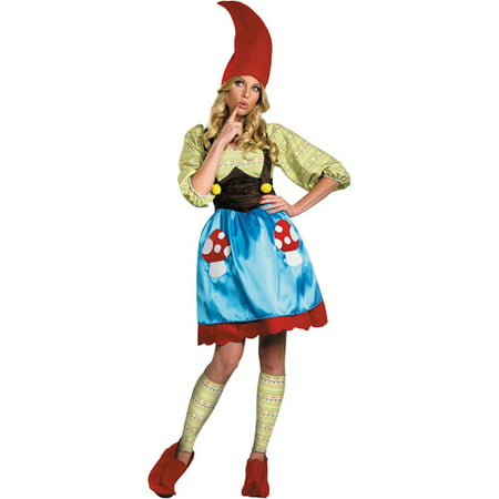 Ms. Gnome Adult Halloween - Evil Gnome Costume