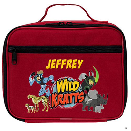 Personalized Wild Kratts Creature Adventure Lunch Bag