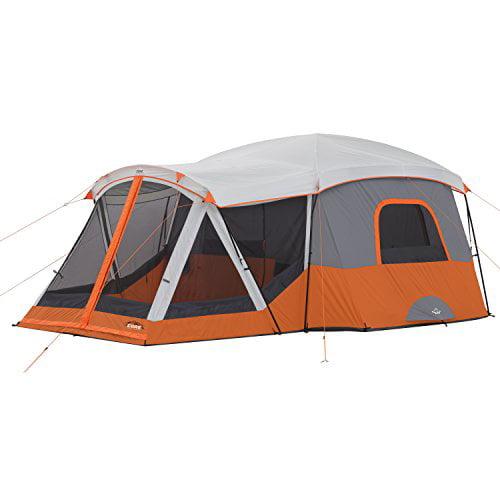 Core Equipment 17' x 12' Cabin Tent w Screen Room, Sleeps 11 by Elevate LLC