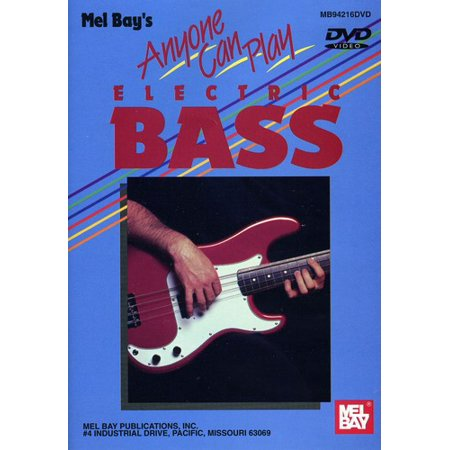 Anyone Can Play Electric Bass (DVD)