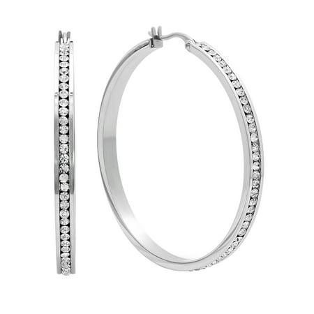 14k Stainless Steel Earrings (Women's Stainless Steel Hoop Earrings)