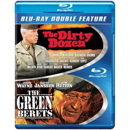 The Dirty Dozen / The Green Berets (Blu-ray) (Widescreen)