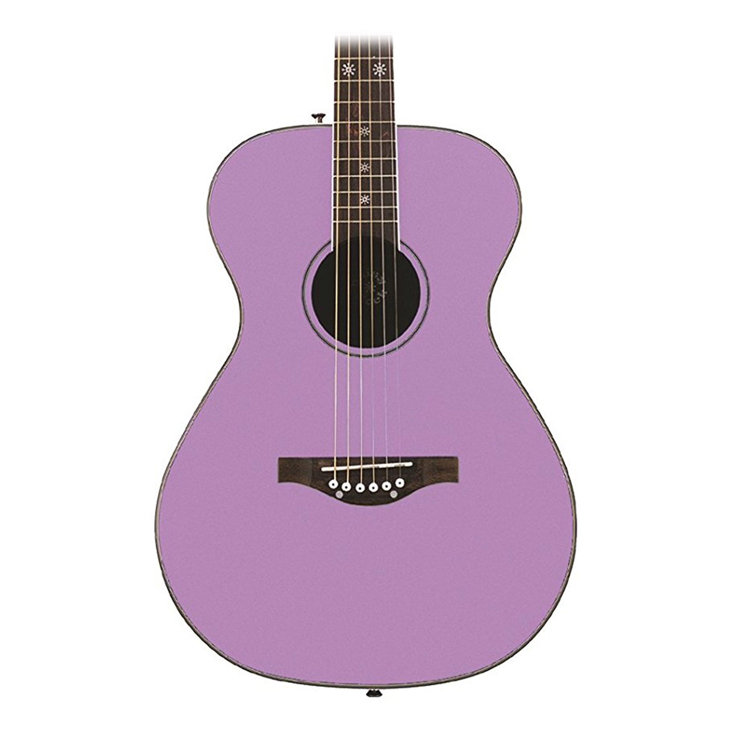 Daisy Rock Pixie Acoustic Guitar, Pastel Purple by Daisy Rock