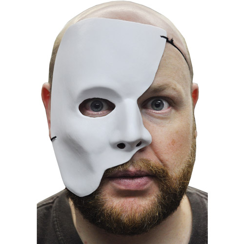 Partial Face Mask Halloween Accessory