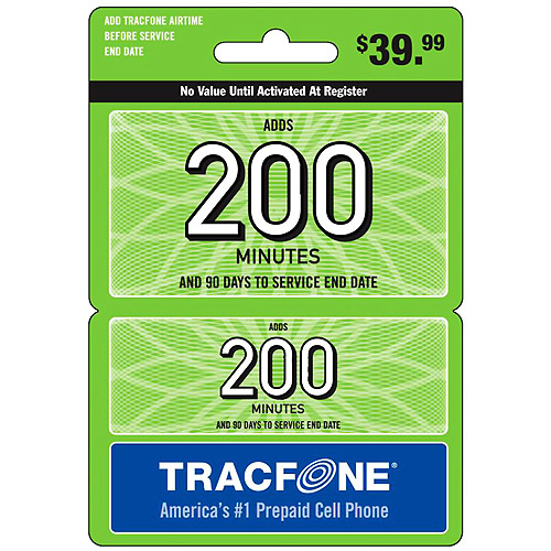 (Email Delivery) Tracfone 200-Minutes Wireless Airtime Card