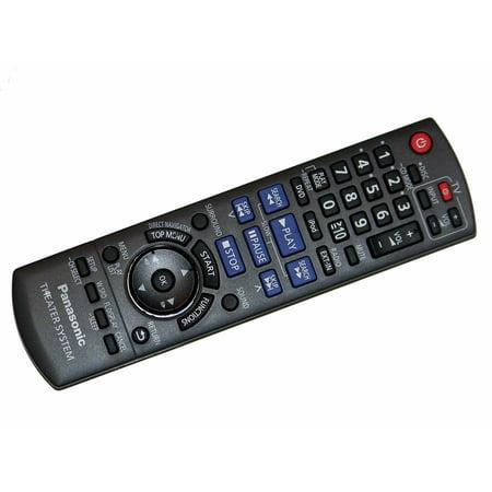 OEM Panasonic Remote Control Originally Shipped with SA-PT673, SA-PT770, SC-BTX70, SC-HC3