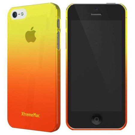 XtremeMac Microshield Fade Case for iPhone 5/5s/SE - Yellow/Tangerine - image 3 de 3