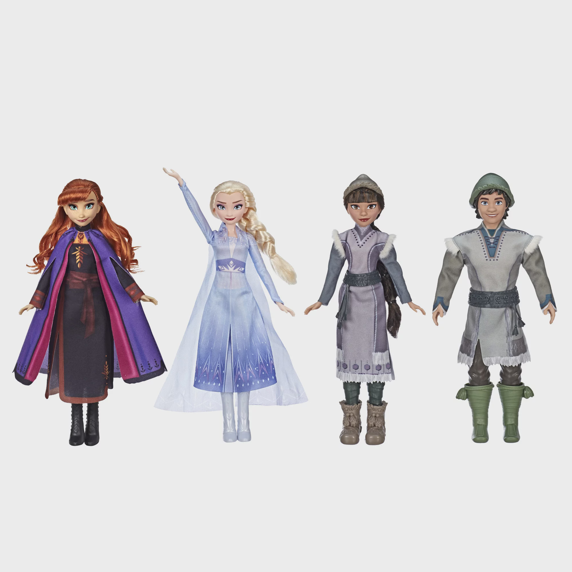 """Frozen Elsa and Anna Dolls 38/"""" 3 Ft Tall w//Shoes Set Life Size Exclusive"""