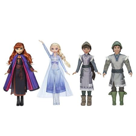 Disney Frozen 2 Forest Expedition Fashion Doll Playset with Anna, Elsa, Ryder & Honeymaren - Walmart Exclusive