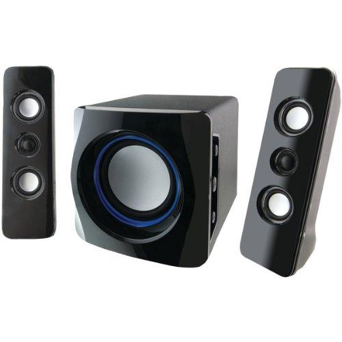 Ilive Ihb23b 2.1 Speaker System - 150 W Rms - Wireless Speaker[s] - Black, White - 33 Ft - Ipod Supported (ihb23b)