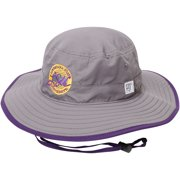 LSU Tigers The Game Classic Circle Ultralight Adjustable Boonie Bucket Hat - Gray - OSFA