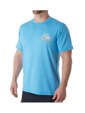 Men's Quiksilver AQYWR3076 Heritage Heather Short Sleeve Rash Guard