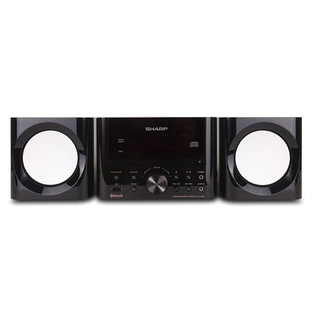 Sharp Bluetooth Hi-Fi Home Audio Desktop Stereo Sound System Cd Player