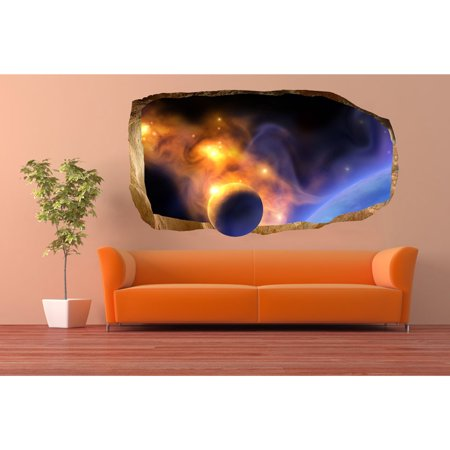 Startonight 3D Mural Wall Art Photo Decor A Planet in your Room ...