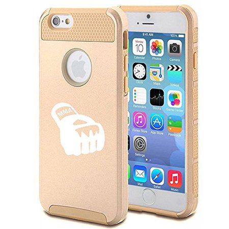 Apple iPhone SE Shockproof Impact Hard Soft Case Cover MMA Boxing Glove