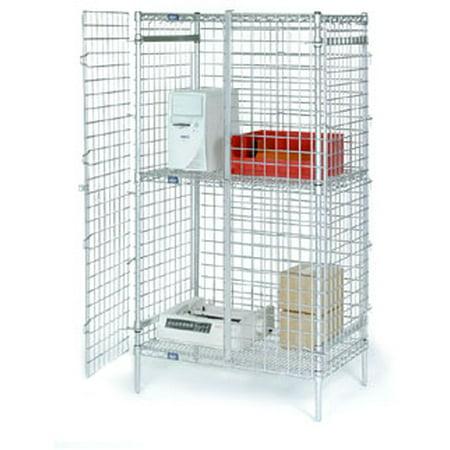 Security Storage Unit (Nexel Security Shelving Unit Door Set SD60C)