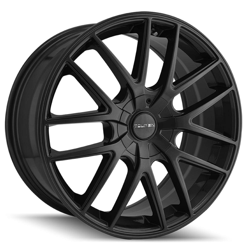 """17"""" Inch Touren 3260 TR60 17x7.5 5x100/5x114.3 +42mm Matte Black Wheel Rim"""