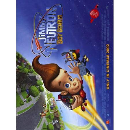 jimmy neutron boy genius movie poster 17 x 11 walmart com