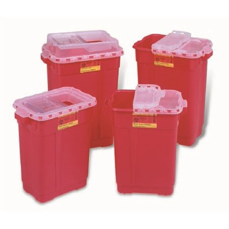 Becton Dickinson Extra Large Sharps Collector - Container, 9 Gal, Slide Top, Each - Model 305616