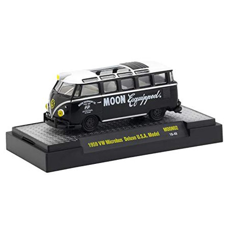 M2 Machines Limited Edition Mooneyes Release 2-1959 VW Microbus Deluxe USA Model MOON02