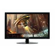 Sceptre 1920x1080 HDMI DVI VGA LED FHD 24-Inch Monitor - E248W-19208A Build-in Speakers, True Black (2017)