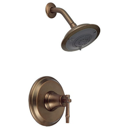 Danze D500545RBDT Shower Only Faucet Trim Kit Showerhead Dstrs Bronze No Valve