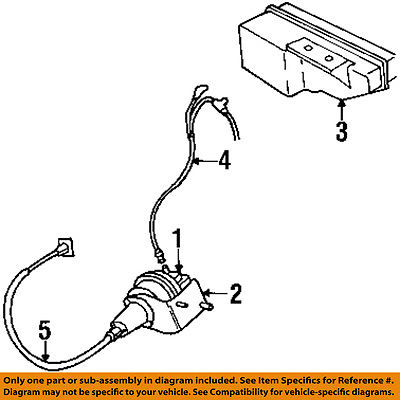 plymouth chrysler oem 1997 prowler cruise control cable 4815368 rh walmart com Ford Ranger Cruise Control Diagram GM Cruise Control Wiring Diagram