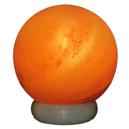 Himalayan Rock Salt Sphere Lamp, 6