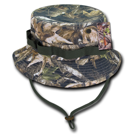 Hybricam Camouflage Boonies Bucket Hunting Camping Fishing Hats Caps with Chin Strap](Camo Bucket Hats)