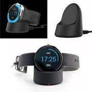 for Moto 360 Watch Charger, EEEKit Replacement Charging Dock Station Charger Cradle with USB Cable for Motorola Moto 360 Smart Watch