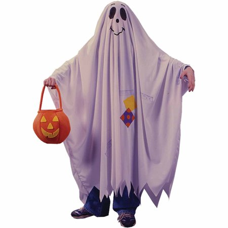 Friendly Ghost Child Halloween Costume (Kid Friendly Halloween Food)