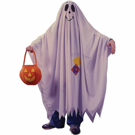 Friendly Ghost Child Halloween Costume - Diy Kids Ghost Costume