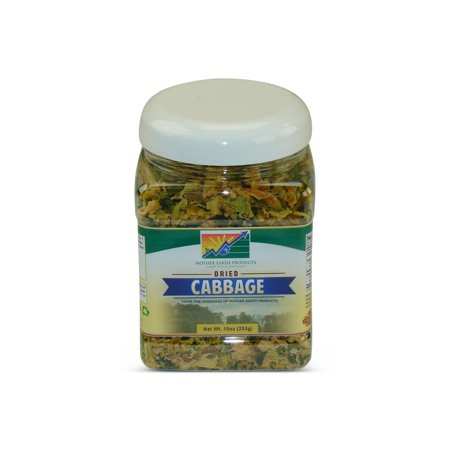 Mother Earth Products Dehydrated Cabbage, jar
