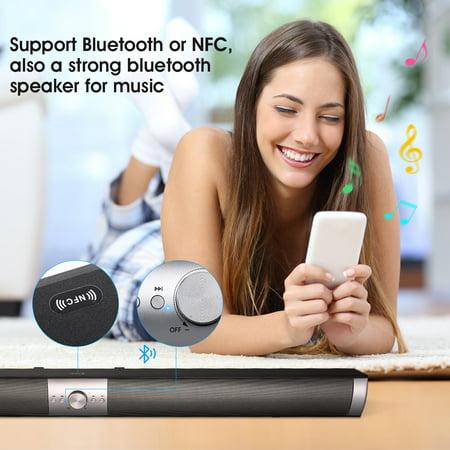 The Smart Beam Soundbar For TV, Phone, Tablt,