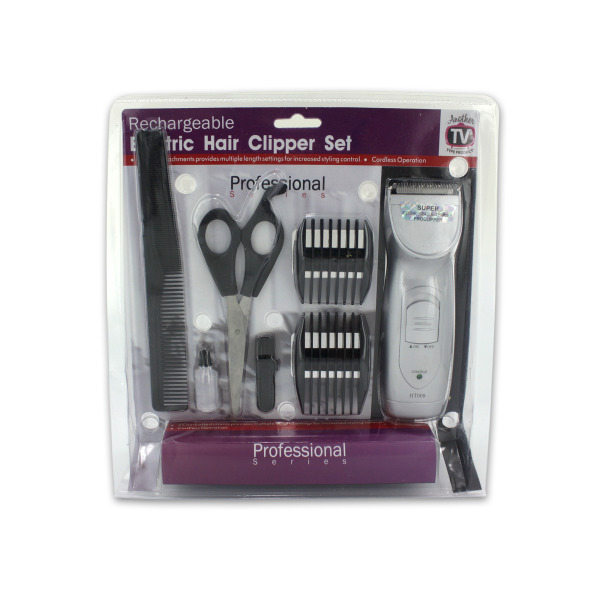 Rechargeable Hair Clipper Set With Accessories (Pack Of 1)