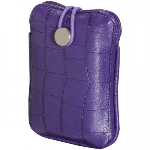 FUJIFILM 600012057 Camera Slip Case (Purple Faux Croc )