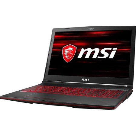 "MSI GL63 15.6"" Gaming Laptop Intel Core i7 16GB RAM 512GB SSD 144Hz RTX 2060 6GB - 9th Gen i7-9750H - NVIDIA GeForce RTX 2060 6GB - 144 Hz refresh rate - In-plane Switching Technology - Windows 1"