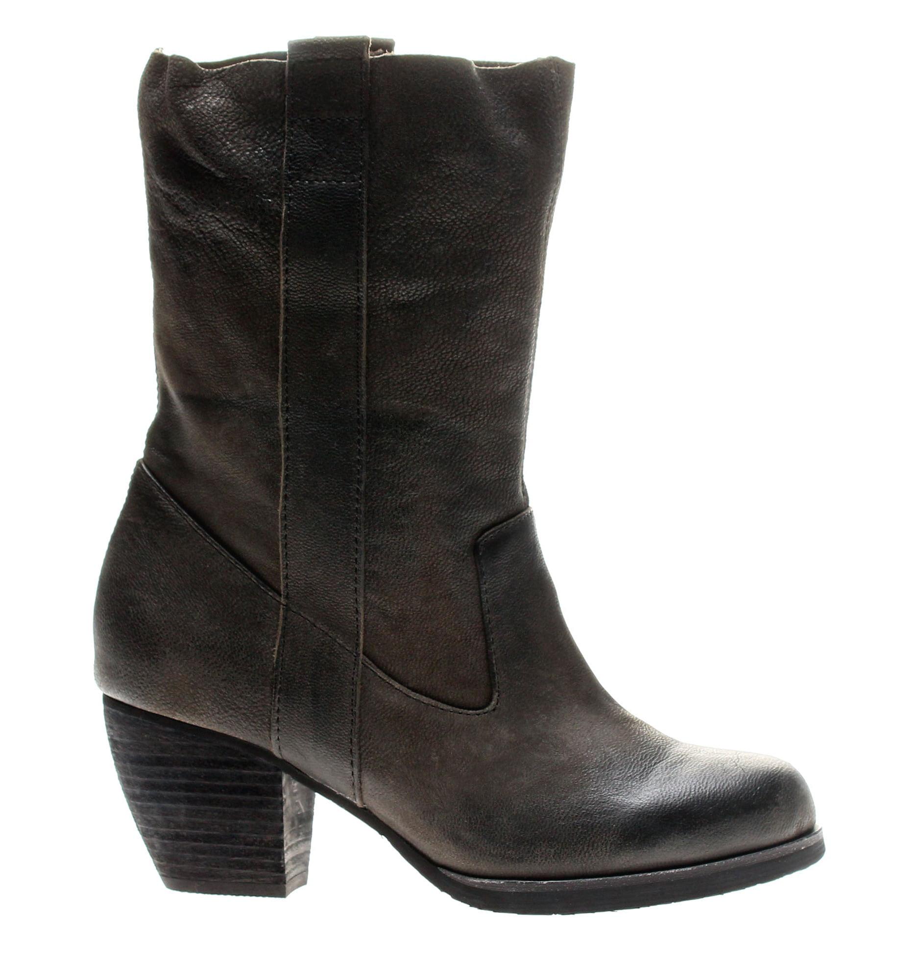 Antelope Booties 663 Ankle Booties Antelope Black Women's Boots 663-Black daacd8