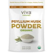Viva Naturals Organic Psyllium Husk Powder, 24 oz