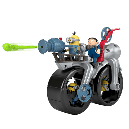 Imaginext Minions: The Rise of Gru Grus Rocket Bike & Figure Set